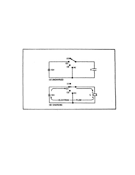 how to discharge capacitor in circuit charging and discharging a capacitor