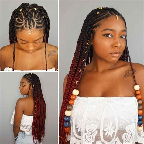 Stunning Braided Hairstyles For Black Girls Ideas   Styles