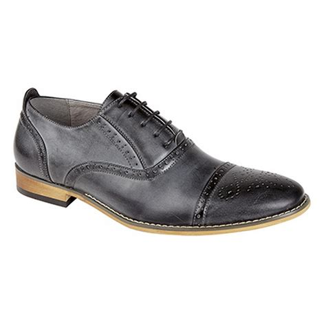 brogue oxford shoes goor mens capped lace oxford brogue shoes
