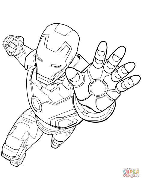coloring pages marvel avengers avengers iron man coloring page free printable coloring