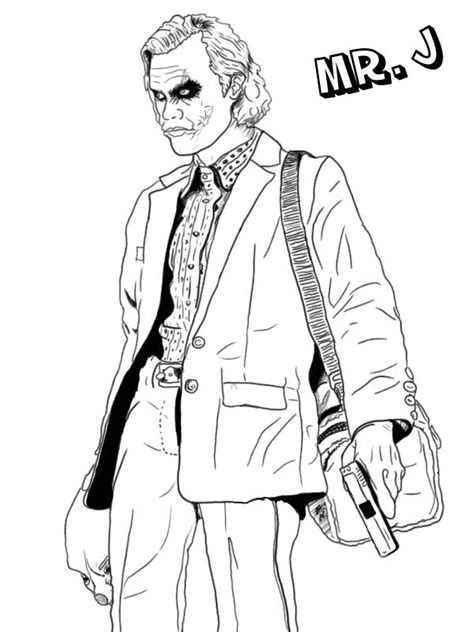 Printable Coloring Pages Joker | joker coloring pages best coloring pages for kids