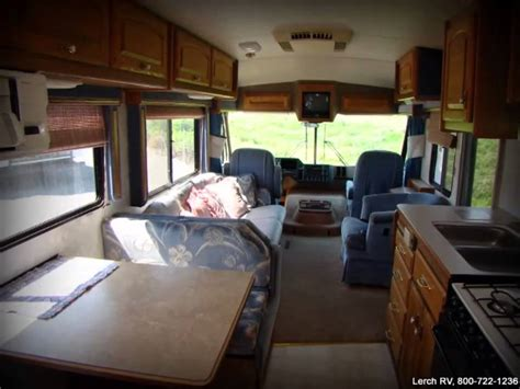 Fleetwood Bounder Floor Plans by Used 1991 Fleetwood Pace Arrow Ml34 Motor Home Class A Rv
