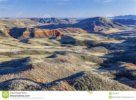 rugged relief colorado rugged terrain stock photos image 34218673