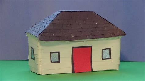 how to make a model of a house