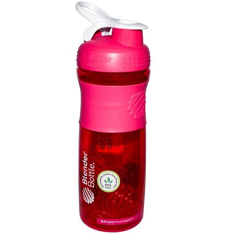 Blender Bottle sundesa sportmixer blender bottle pink white 28 oz