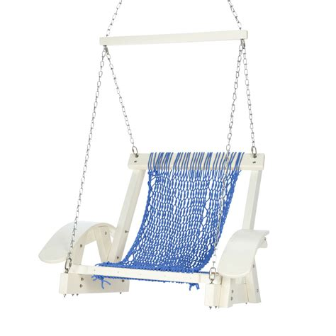 single rope swing durawood curved arm single rope swing
