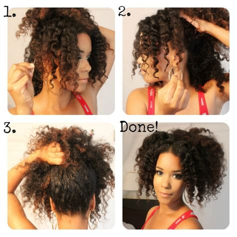 diy hairstyles for natural hair 3 gorgeous natural hairstyles to try this weekend the