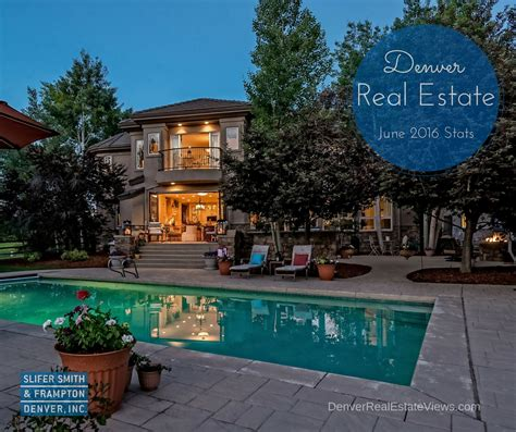 denver housing market denver real estate market statistics june 2016