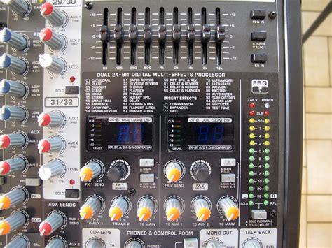 Mixer Behringer Sx3242fx behringer eurodesk sx3242fx image 644281 audiofanzine