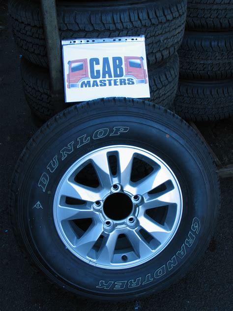 toyota land cruiser   wheels  tyres