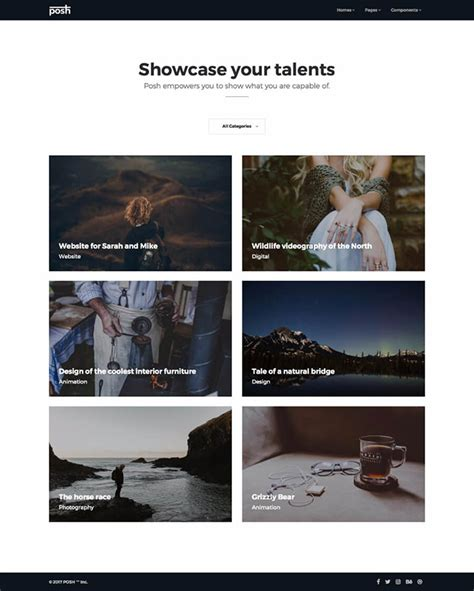 bootstrap templates for personal website 41 high quality free responsive personal portfolio cv