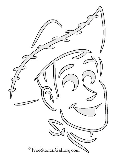 Woody Template story woody stencil free stencil gallery