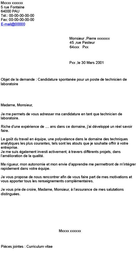 Exemple Lettre De Motivation Candidature Spontanã E Lettre Candidature Spontan 233 E Exemple De Lettre De Motivation Jaoloron