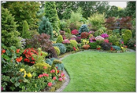 Images Flower Gardens Small Front Yard Flower Garden Garden Post