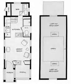 Floor Plans For Small Homes With Lofts by Tiny House Plans With Loft Viewing Gallery