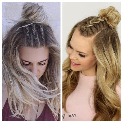 Wedding Hair Braids Half Up by Simple And Easy Half Up Hairstyles For Weddings Hair