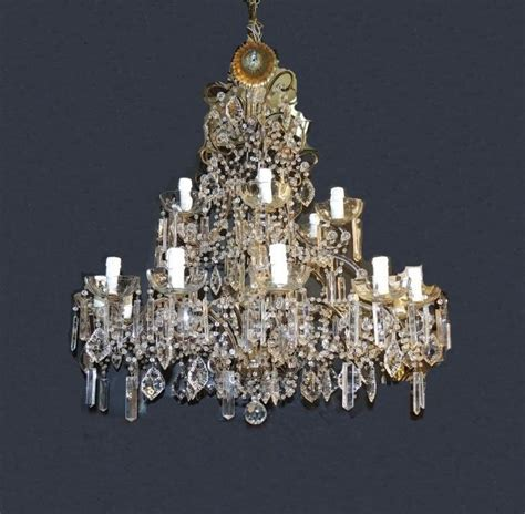 Chandelier Restoration Chandeliers Restoration Chandelier Drops Before And After Illuminazione Vicenza