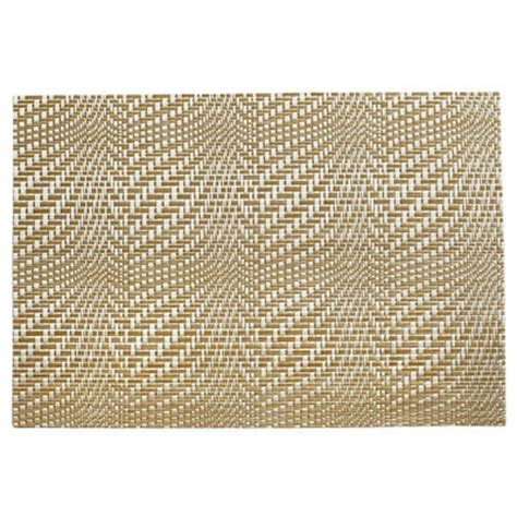 Pier One Place Mats by Tabella Gold Wave Placemat Pier 1 Imports