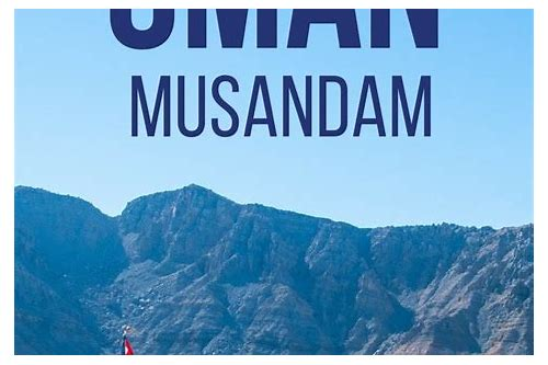 musandam oman deals