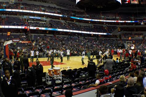 verizon center section 121 capital one arena section 121 washington wizards