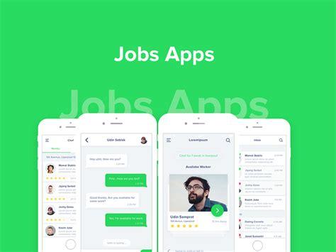 app design jobs jobs apps design screens ui素材库