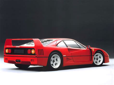 1987 f40 specs colors facts history and performance