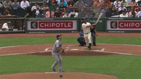 press pause on your and bumgarner hit a