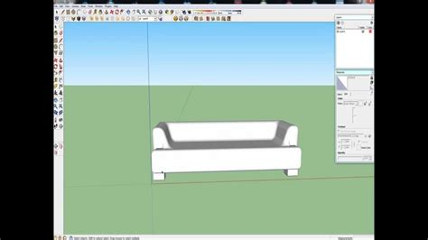 tutorial memakai google sketchup tutorial google sketchup sofa making youtube