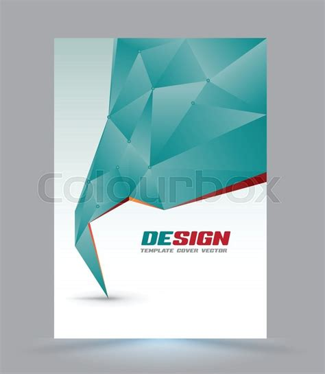 9 best images of magazine layout cover abstract colorful cover page layout template polygon abstract speech style