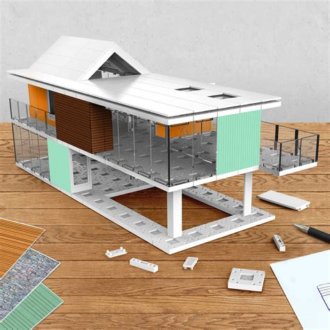 architectural model kits architectural model making kit 240 by arckit