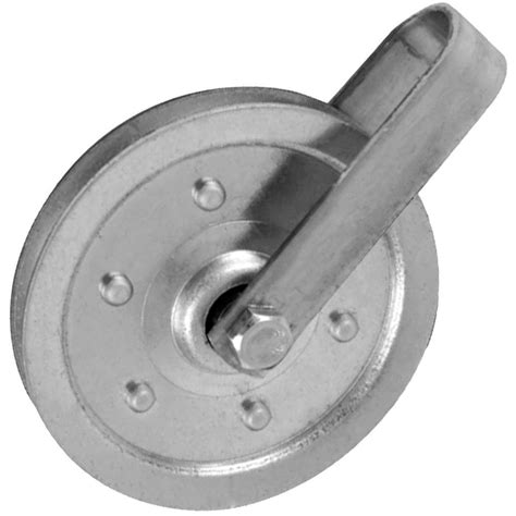 ideal security 4 in pulley with fork and bolt sk7114