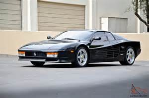 Used Testarossa For Sale Used Testarossa For Sale Buy Cheap Pre Owned
