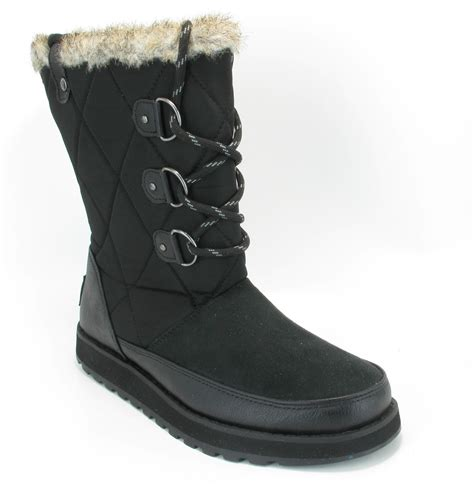 womens skechers keepsakes snow winter fur boots uk