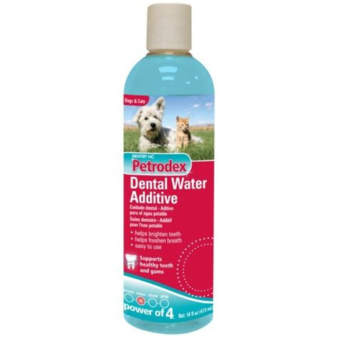 for dogs petrodex dental water additive for dogs and cats toothpastes washes gels