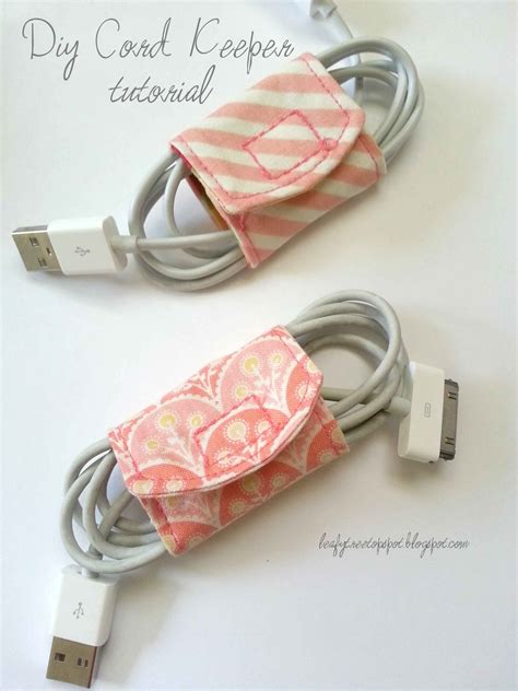 pattern for cord holder made by me shared with you tutorial diy cord keeper