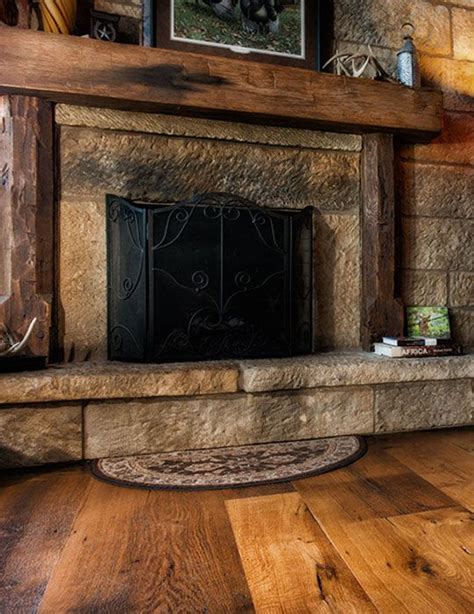 17 best ideas about rustic fireplaces on