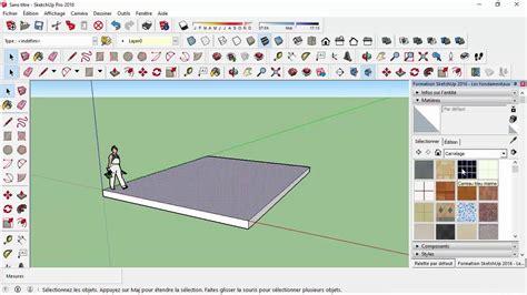 tutorial sketchup 2016 español tutorial sketchup les fondamentaux barre d outils et