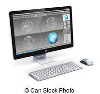 professionelle schreibtische software foto redaktion edv schreibtisch alles eigen