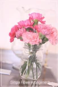 simple flower arrangements chrystina noel