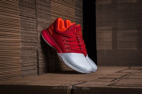 adidas harden vol 1 adidas harden vol 1 scarlet footwear white energy