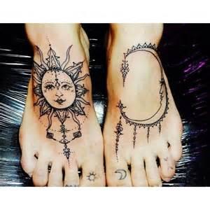 29 beautiful hippie sun tattoos