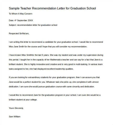 collection of solutions sample of recommendation letter for