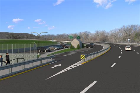 Traffic To Home by 100 Rockland Bound Traffic To Begin Traveling On New