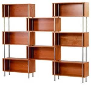 mid century bookshelves mid century modern inspired bookshelves furniture