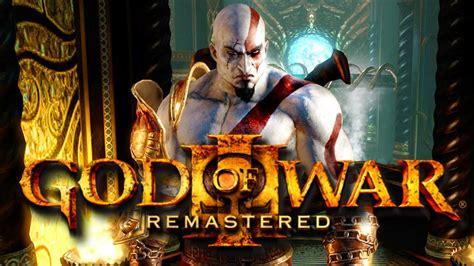 Ps4 God Of War Iii Remastered god of war iii remastered trailer ps4