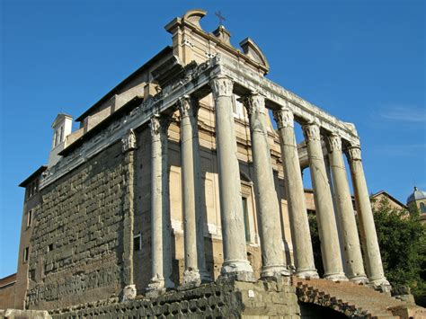temple of temple of antoninus and faustina