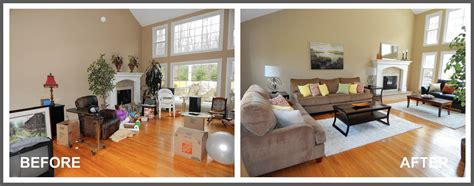 before and after staging pictures professional home staging hartford courant