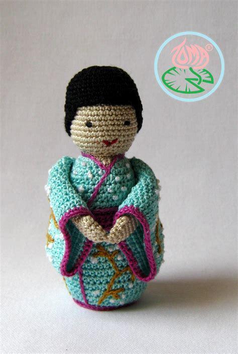 amigurumi geisha pattern amigurumi geisha kokeshi a japanese doll toma creations