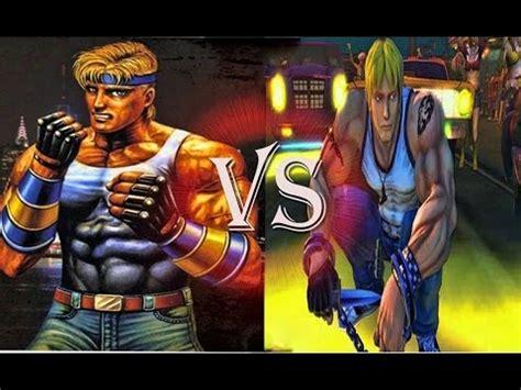 Rage Vs Fight Travers Vs Axel Fight Vs Streets Of Rage