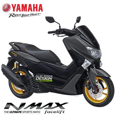 Pcx 2018 Warna Biru by Begini Next Yamaha Nmax 155 Facelift 2018